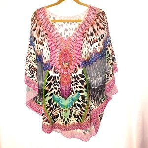 New without tags bright kaftan size 16-18